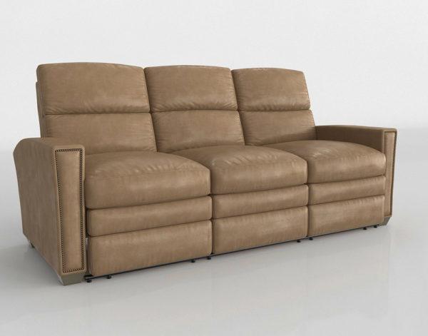 Sofá 3D Reclinable Perigold Julian