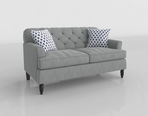 Sofá 3D Biplaza Wayfair Bobkona