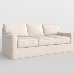 3D Sofa PotteryBarn Buchanan