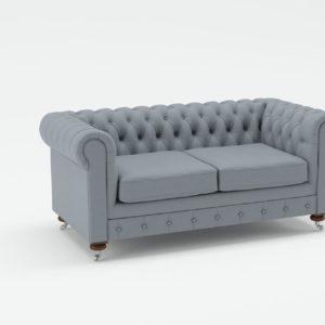 Sofá 3D Biplaza Joybird Liam
