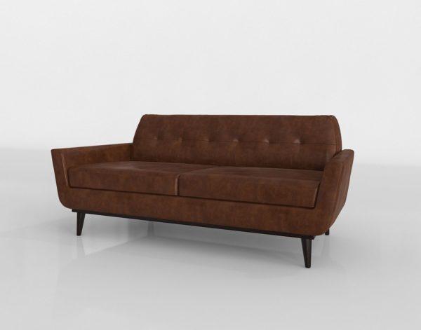 Sofá 3D Biplaza Joybird Hughes