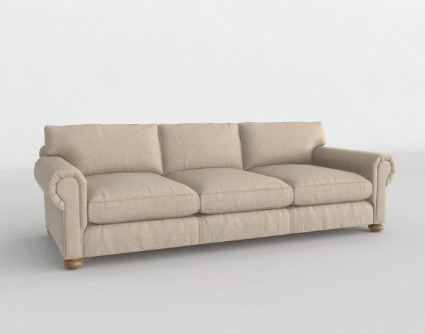 Sofá 3D R&H Original Lancaster Tapizado