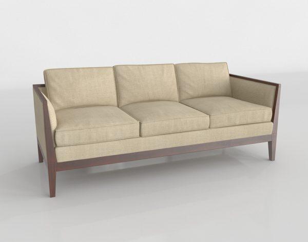 Sofá 3D R&B Modern Sofa
