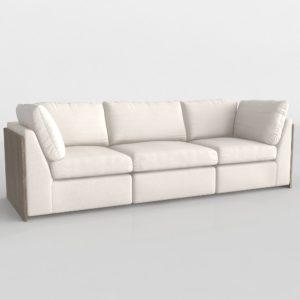 Sofá 3D LKX Grand Corner