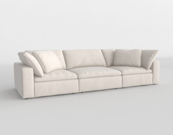 Sofá 3D R&H Cloud Modular