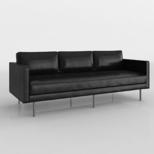 Axel Sofa 3 Seats West Elm