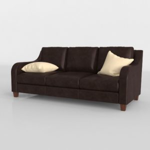 Power Leather 3 Seast Sofa