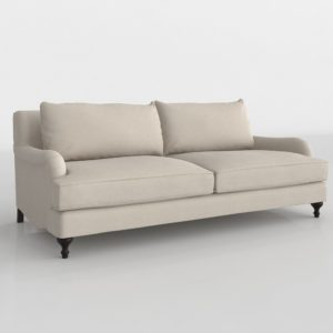 Carlisle Upholstered Sofa Pottery Barn