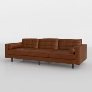 Darrin Leather Sofa Darran Furniture