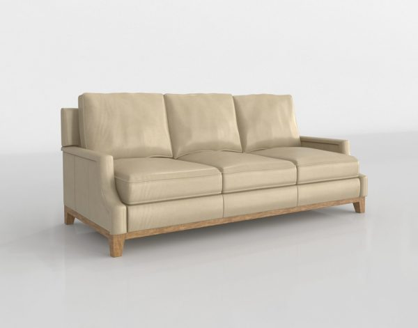 Sofá 3D CM Furniture en Cuero