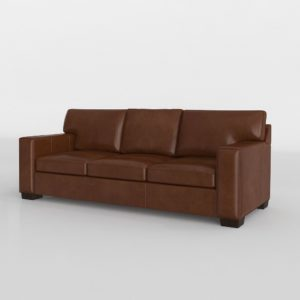 Kimberlly Leather Craft Sofa Houzz