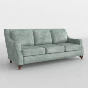 Sofá 3D Star Furniture Silver Lake en Cuero