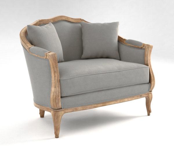 Sofia Cuddle Settee Ballard Designs