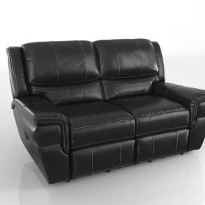 3D Reclining Loveseat Living Spaces Abrams