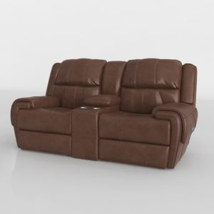 Sofá 3D Biplaza Reclinable R&F Colvin