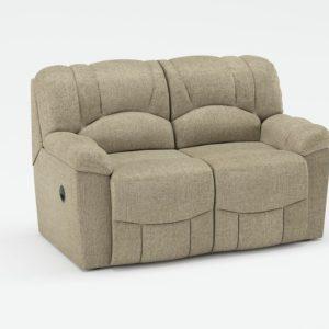 Sofá 3D Biplaza Reclinable Wayfair Hayes