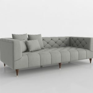 Sofá 3D Interior Define Ms. Chesterfield