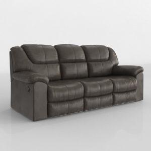 Sofá 3D Reclinable Hennen Palliser