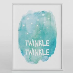 Twinkle-Twinkle Wall Art Design