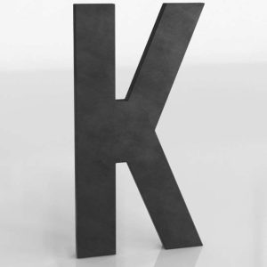 1930's Letter K RHBaby&Child