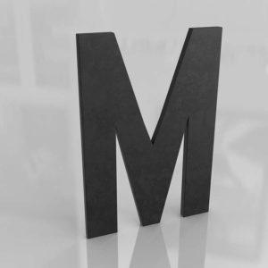 Metal Letter M RHBaby&Child
