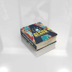 Alpha Block Book Nursery Decor