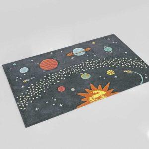 Space Rug Nursery Decor