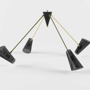 Lampara de Araña 3D Maximo Lawsonfenning