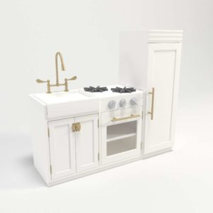 Chelsea All-In-1 Kitchen White PotteryBarnKids PlayZone