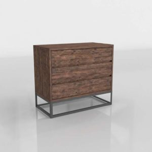 Logan Industrial 3-Drawer Dresser West Elm