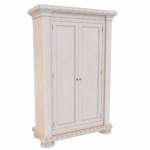 White Tarba Armoire 3D Model