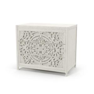 White Lombok Dresser 3D Model