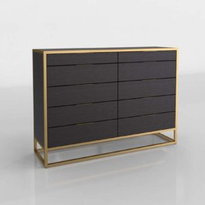 Oxford Dresser 3D Model