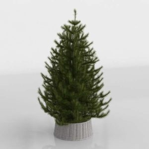 3D Fir Decor Terrain