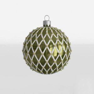 Ball Ornament Crate and Barrel Xmas Decor