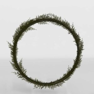 Cedar Wreath CB2 Xmas Decor