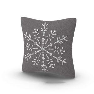 Snowflake XMas Pillow 3D Model