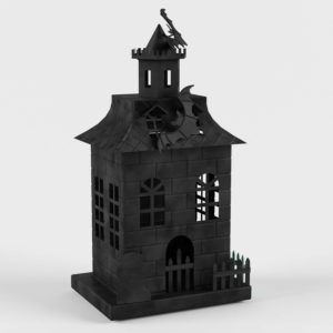 Haunted House Candle