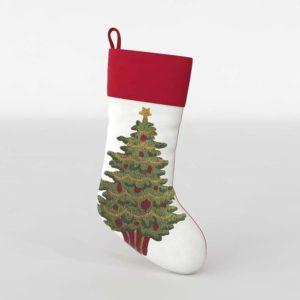 Sock Christmas Tree 3D Model