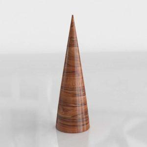 Modelo 3D Escultura Navideña 3D Árbol