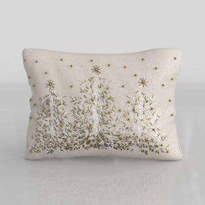 Christmas Tree XMas Pillow 3D Model