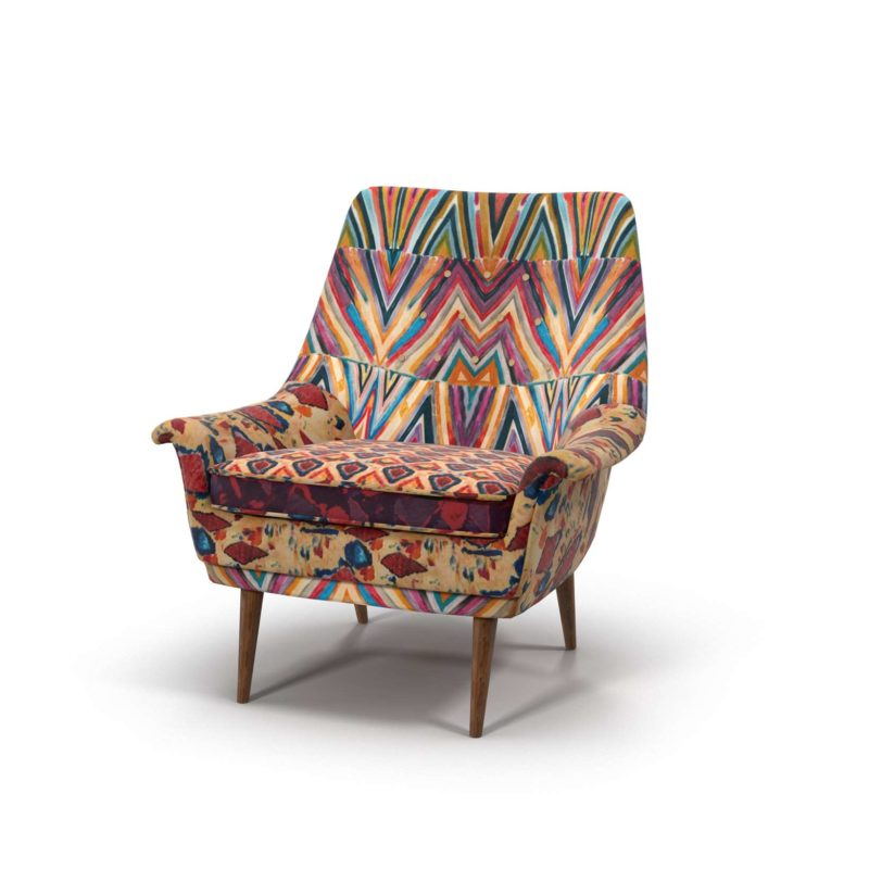 Medina Printed Rivona Chair Anthropologie