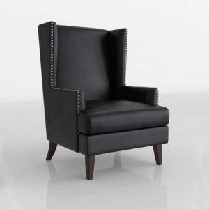 Cudahy Wingback Accent Chair Hayneedle Furniture