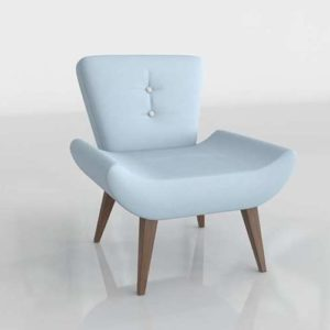 3D Dining Chair Marcelo Ibanez