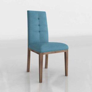 3D Dining Chair Arianna Vintage