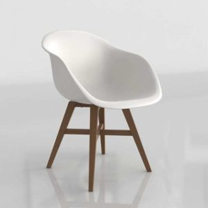 3D Armchair Pilma Furniture Barcelona Lowa