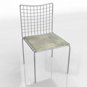 Modelo 3D Silla de Comedor 3D Mersch
