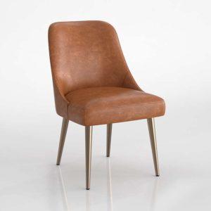 Verdon Dining Chair 3D Model