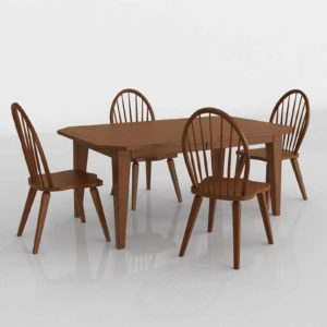 Colebrook Five Dining Set