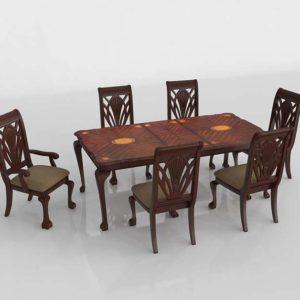 Gracewood Hollow Worra Formal 7-Dining Set